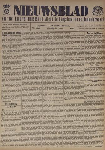 Nieuwsblad het land van Heusden en Altena de Langstraat en de Bommelerwaard 1917-03-17