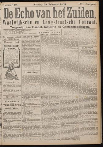 Echo van het Zuiden 1909-02-28