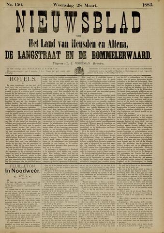 Nieuwsblad het land van Heusden en Altena de Langstraat en de Bommelerwaard 1883-03-28