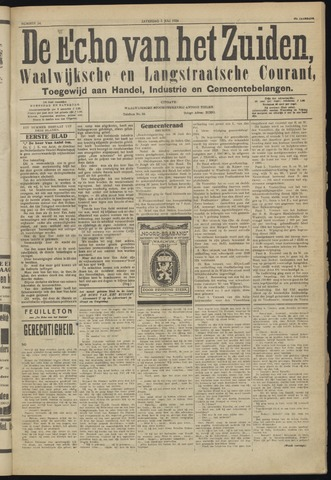 Echo van het Zuiden 1924-07-05