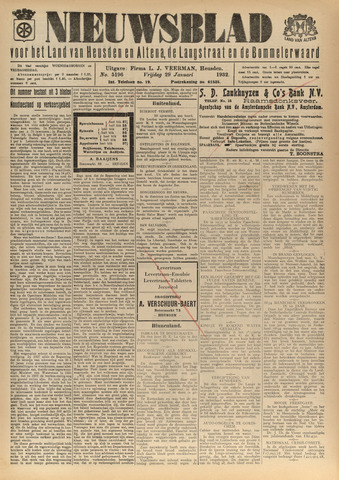 Nieuwsblad het land van Heusden en Altena de Langstraat en de Bommelerwaard 1932-01-29