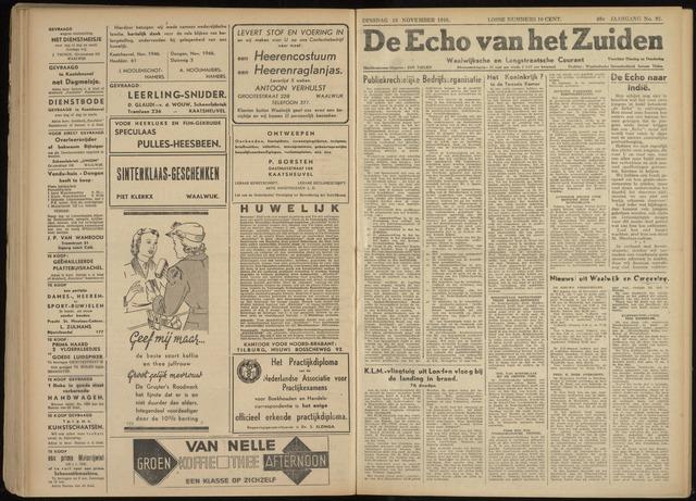 Echo van het Zuiden 1946-11-19