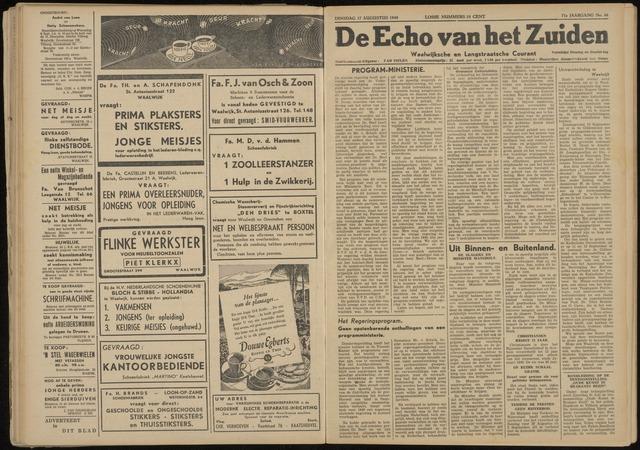 Echo van het Zuiden 1948-08-17