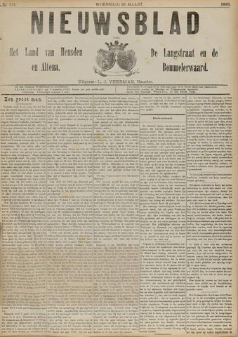 Nieuwsblad het land van Heusden en Altena de Langstraat en de Bommelerwaard 1890-03-26