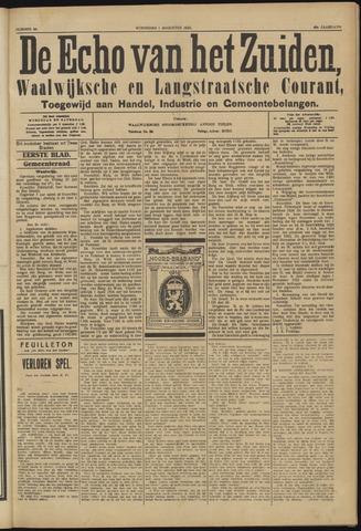 Echo van het Zuiden 1923-08-01