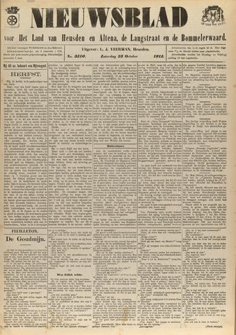Nieuwsblad het land van Heusden en Altena de Langstraat en de Bommelerwaard 1915-10-23