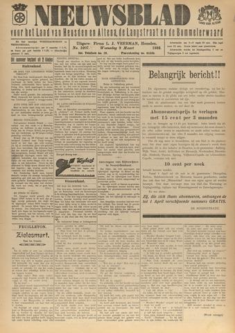Nieuwsblad het land van Heusden en Altena de Langstraat en de Bommelerwaard 1932-03-09