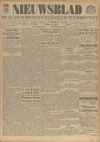 Nieuwsblad het land van Heusden en Altena de Langstraat en de Bommelerwaard 1924-04-11