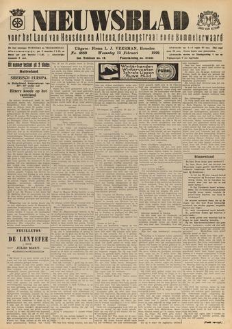Nieuwsblad het land van Heusden en Altena de Langstraat en de Bommelerwaard 1929-02-13