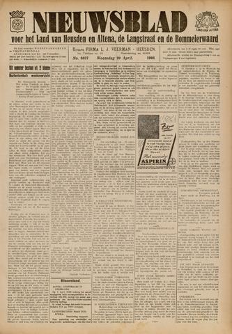 Nieuwsblad het land van Heusden en Altena de Langstraat en de Bommelerwaard 1936-04-29