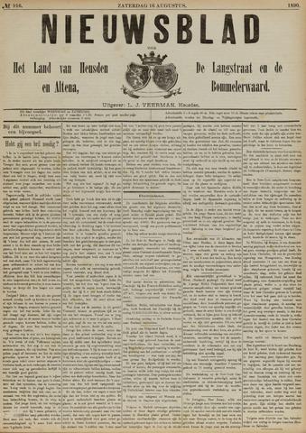 Nieuwsblad het land van Heusden en Altena de Langstraat en de Bommelerwaard 1890-08-16