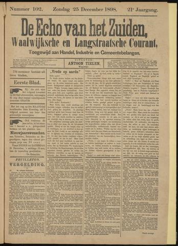 Echo van het Zuiden 1898-12-25