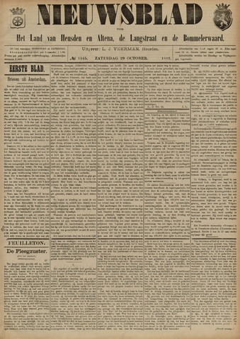 Nieuwsblad het land van Heusden en Altena de Langstraat en de Bommelerwaard 1892-10-29