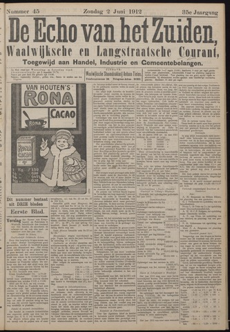Echo van het Zuiden 1912-06-02