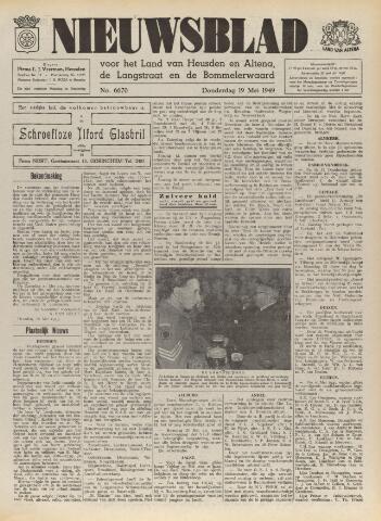 Nieuwsblad het land van Heusden en Altena de Langstraat en de Bommelerwaard 1949-05-19