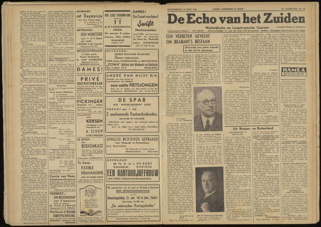Echo van het Zuiden 1948-06-24