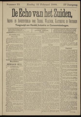 Echo van het Zuiden 1888-02-12