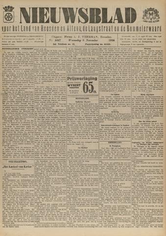 Nieuwsblad het land van Heusden en Altena de Langstraat en de Bommelerwaard 1924-11-05