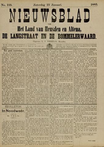 Nieuwsblad het land van Heusden en Altena de Langstraat en de Bommelerwaard 1883-01-13