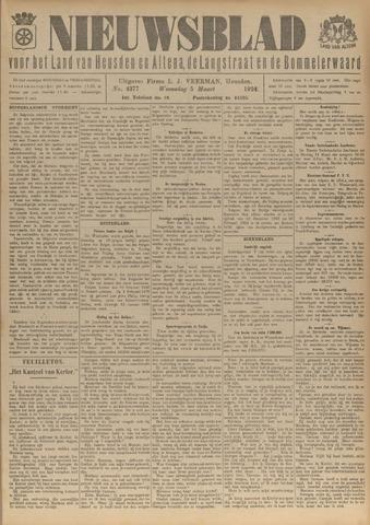 Nieuwsblad het land van Heusden en Altena de Langstraat en de Bommelerwaard 1924-03-05