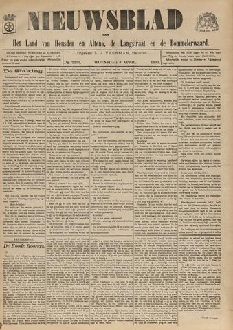 Nieuwsblad het land van Heusden en Altena de Langstraat en de Bommelerwaard 1903-04-08
