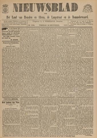Nieuwsblad het land van Heusden en Altena de Langstraat en de Bommelerwaard 1897-12-24