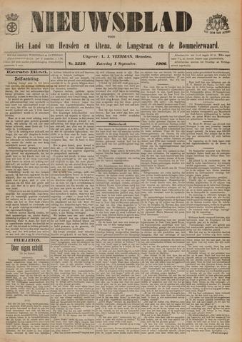 Nieuwsblad het land van Heusden en Altena de Langstraat en de Bommelerwaard 1906-09-01