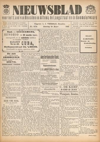 Nieuwsblad het land van Heusden en Altena de Langstraat en de Bommelerwaard 1922-03-18
