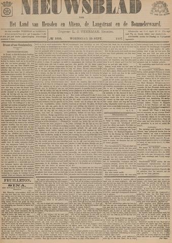 Nieuwsblad het land van Heusden en Altena de Langstraat en de Bommelerwaard 1897-09-29