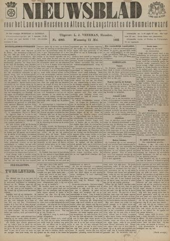 Nieuwsblad het land van Heusden en Altena de Langstraat en de Bommelerwaard 1921-05-11