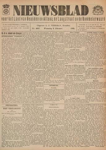 Nieuwsblad het land van Heusden en Altena de Langstraat en de Bommelerwaard 1921-02-02