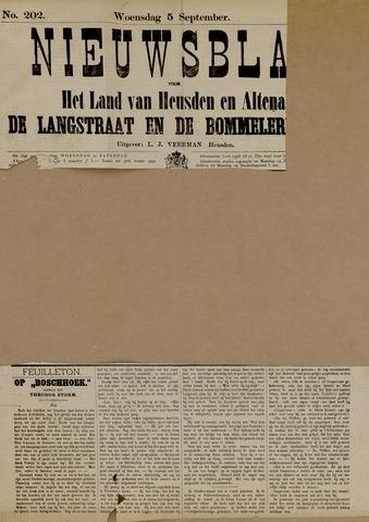 Nieuwsblad het land van Heusden en Altena de Langstraat en de Bommelerwaard 1883-09-05