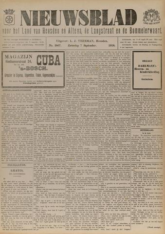 Nieuwsblad het land van Heusden en Altena de Langstraat en de Bommelerwaard 1918-09-07