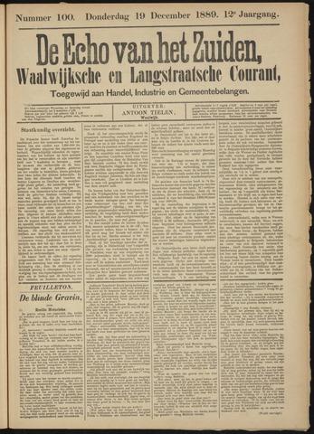 Echo van het Zuiden 1889-12-19