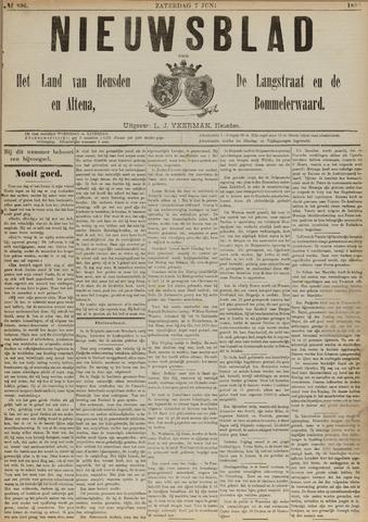 Nieuwsblad het land van Heusden en Altena de Langstraat en de Bommelerwaard 1890-06-07