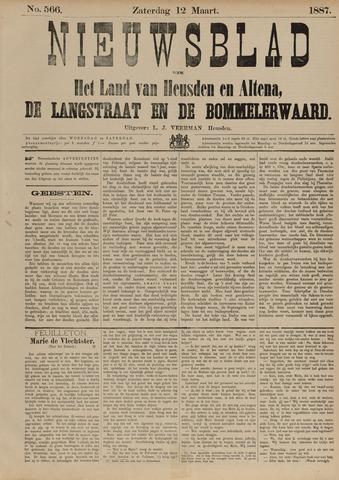 Nieuwsblad het land van Heusden en Altena de Langstraat en de Bommelerwaard 1887-03-12