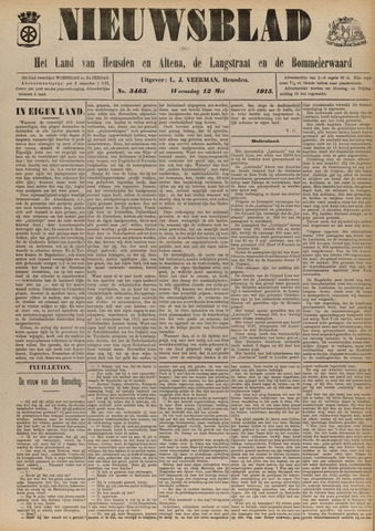 Nieuwsblad het land van Heusden en Altena de Langstraat en de Bommelerwaard 1915-05-12