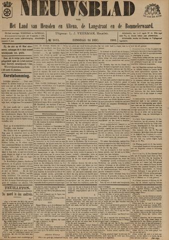Nieuwsblad het land van Heusden en Altena de Langstraat en de Bommelerwaard 1901-12-24