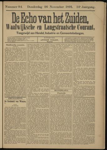 Echo van het Zuiden 1891-11-26
