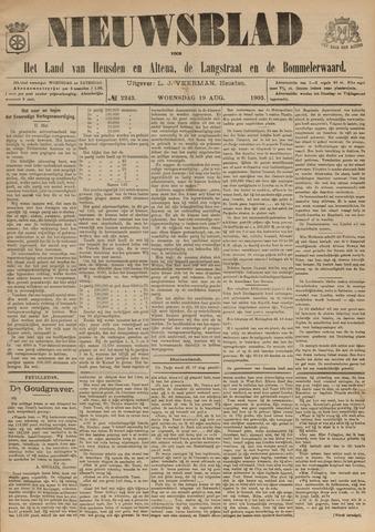 Nieuwsblad het land van Heusden en Altena de Langstraat en de Bommelerwaard 1903-08-19