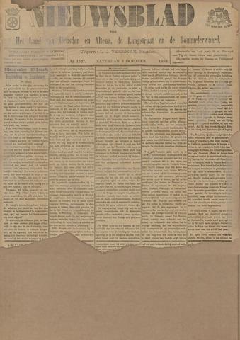 Nieuwsblad het land van Heusden en Altena de Langstraat en de Bommelerwaard 1896-10-03
