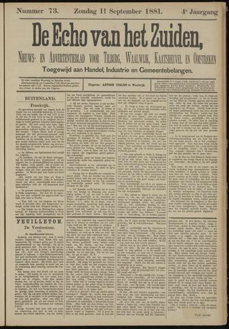 Echo van het Zuiden 1881-09-11