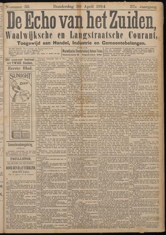 Echo van het Zuiden 1914-04-30