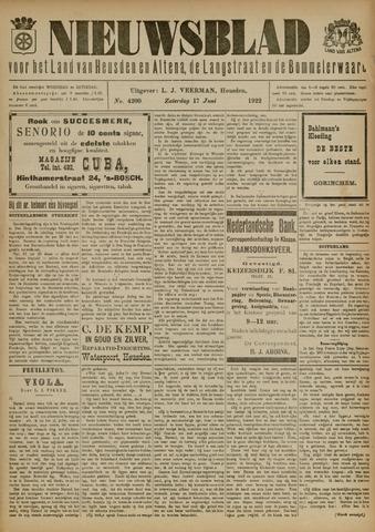 Nieuwsblad het land van Heusden en Altena de Langstraat en de Bommelerwaard 1922-06-17