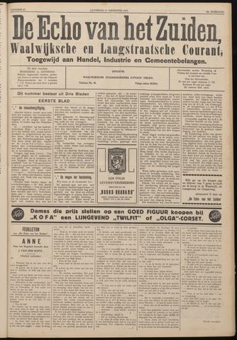 Echo van het Zuiden 1937-08-21