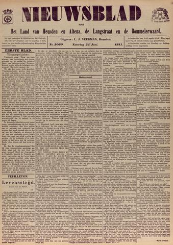 Nieuwsblad het land van Heusden en Altena de Langstraat en de Bommelerwaard 1911-06-24