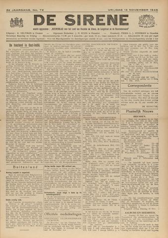 De Sirene 1945-11-16