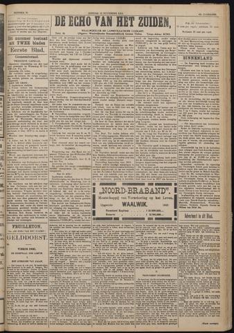 Echo van het Zuiden 1918-11-10