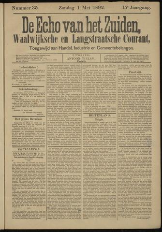 Echo van het Zuiden 1892-05-01