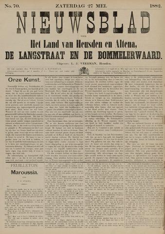 Nieuwsblad het land van Heusden en Altena de Langstraat en de Bommelerwaard 1882-05-27